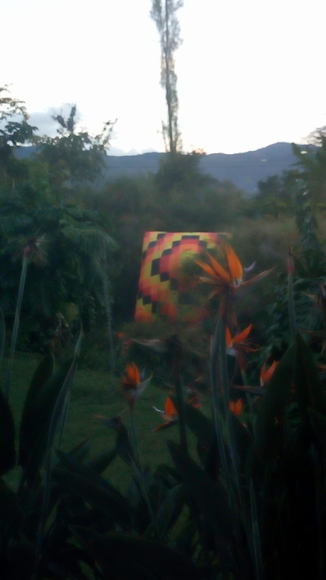 Un globo por poco ocasiona un incendio en la Clínica San Juan de Dios