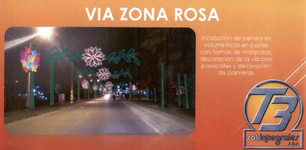 Investigan contrato de alumbrado navideño en La Ceja