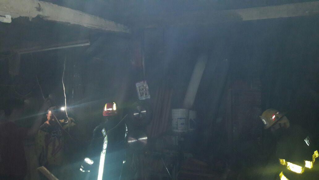 Incendio se presentó en carpintería en La Ceja