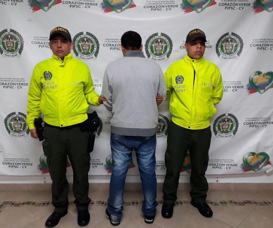 Capturado sindicado de cometer varios hurtos a fincas en El Retiro