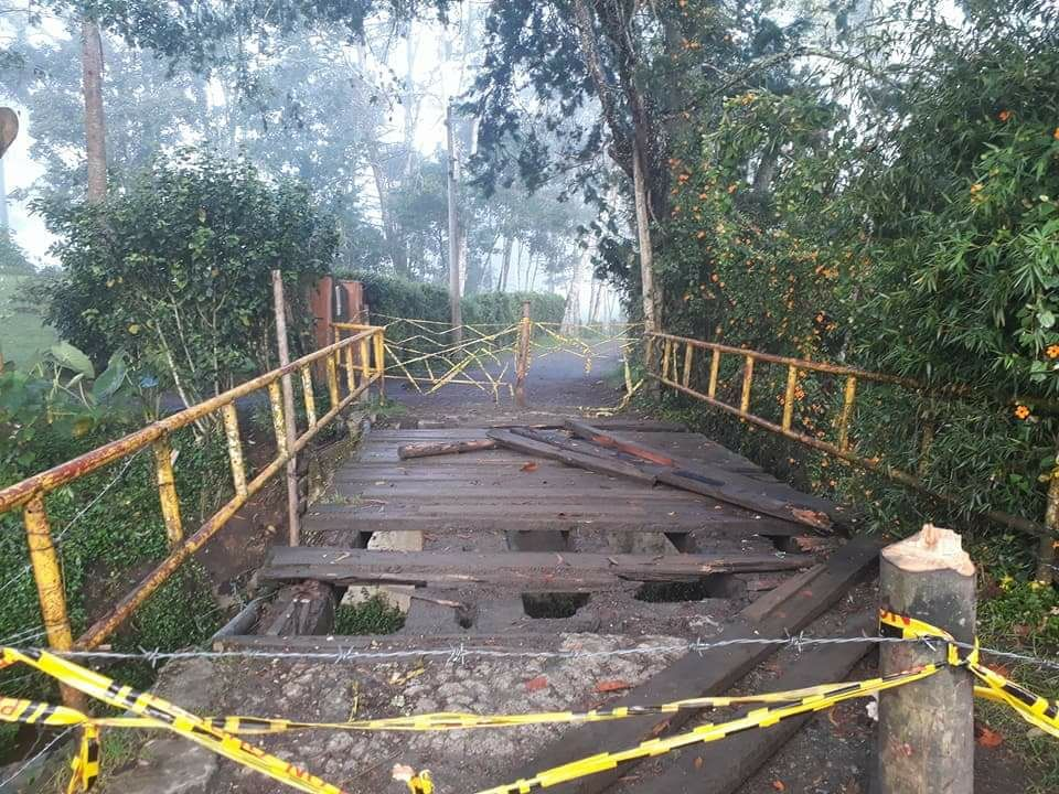 Por cerca de tres meses estará cerrado el paso por el puente La Guaira