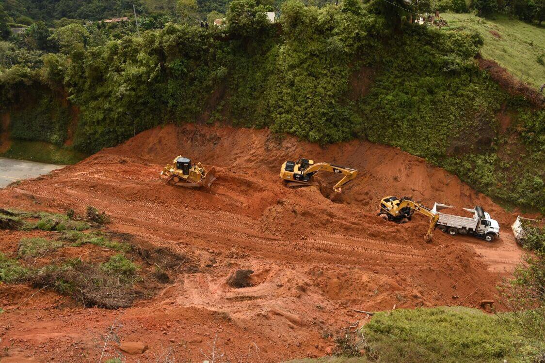 Ya está abierta la vía a Santa Fé de Antioquia