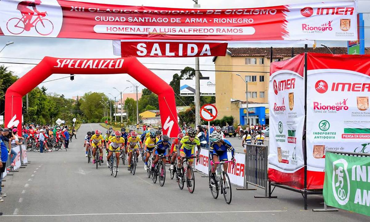 Esté atento al cierre de las vías en Rionegro por competencia ciclística