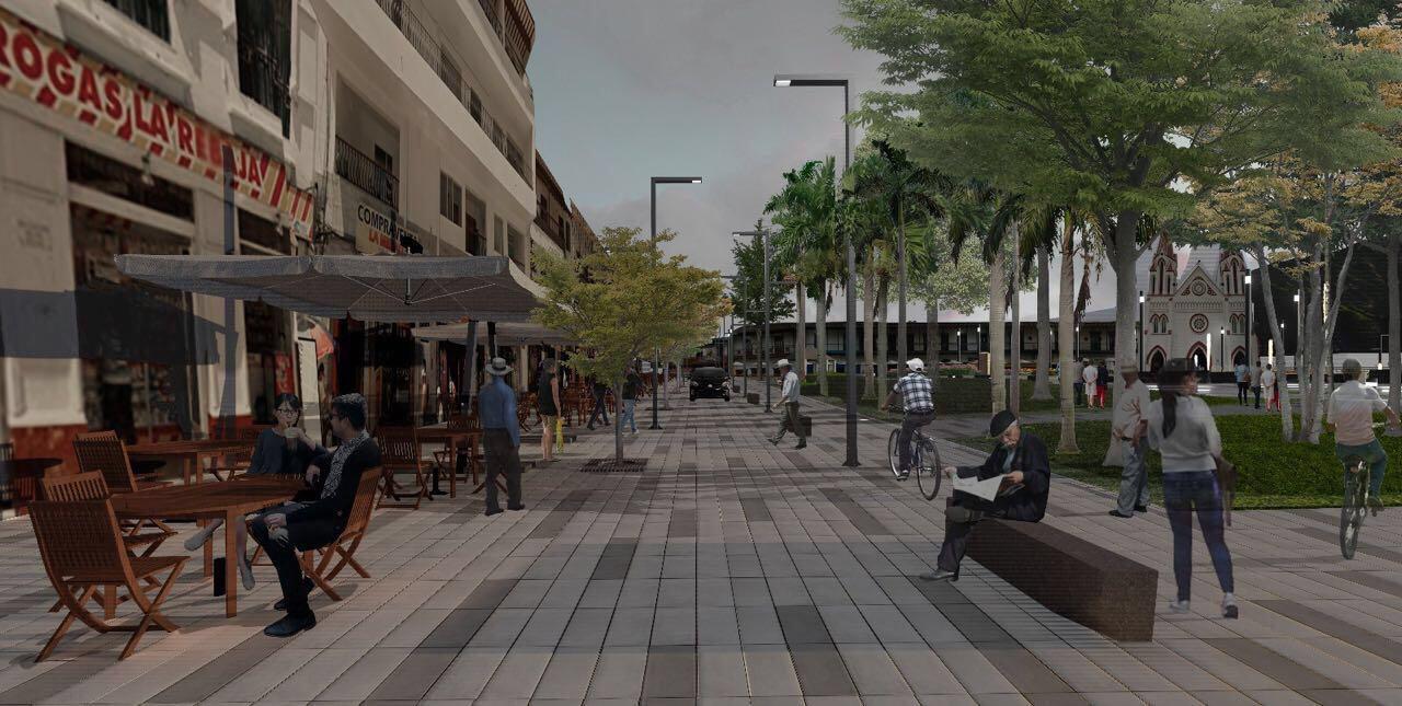 En ocho meses estaría lista la primera etapa de la remodelación del Parque Principal