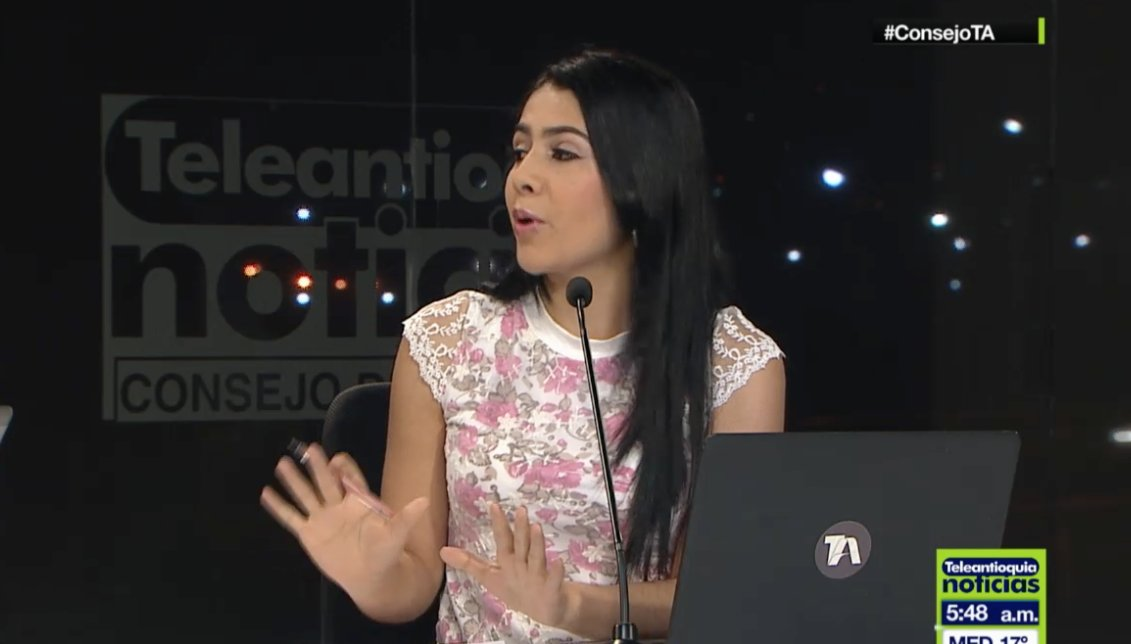 Paula Bernal será la nueva cara de las noticias de Teleantioquia