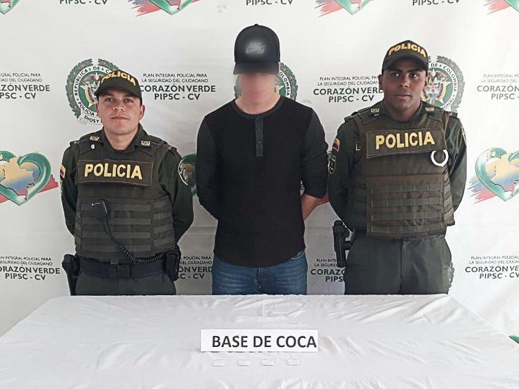Cuatro capturados por estupefacientes en La Ceja