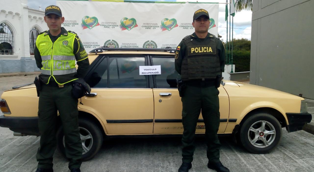 Un vehículo y dos motos fueron recuperadas por la Policía en La Ceja