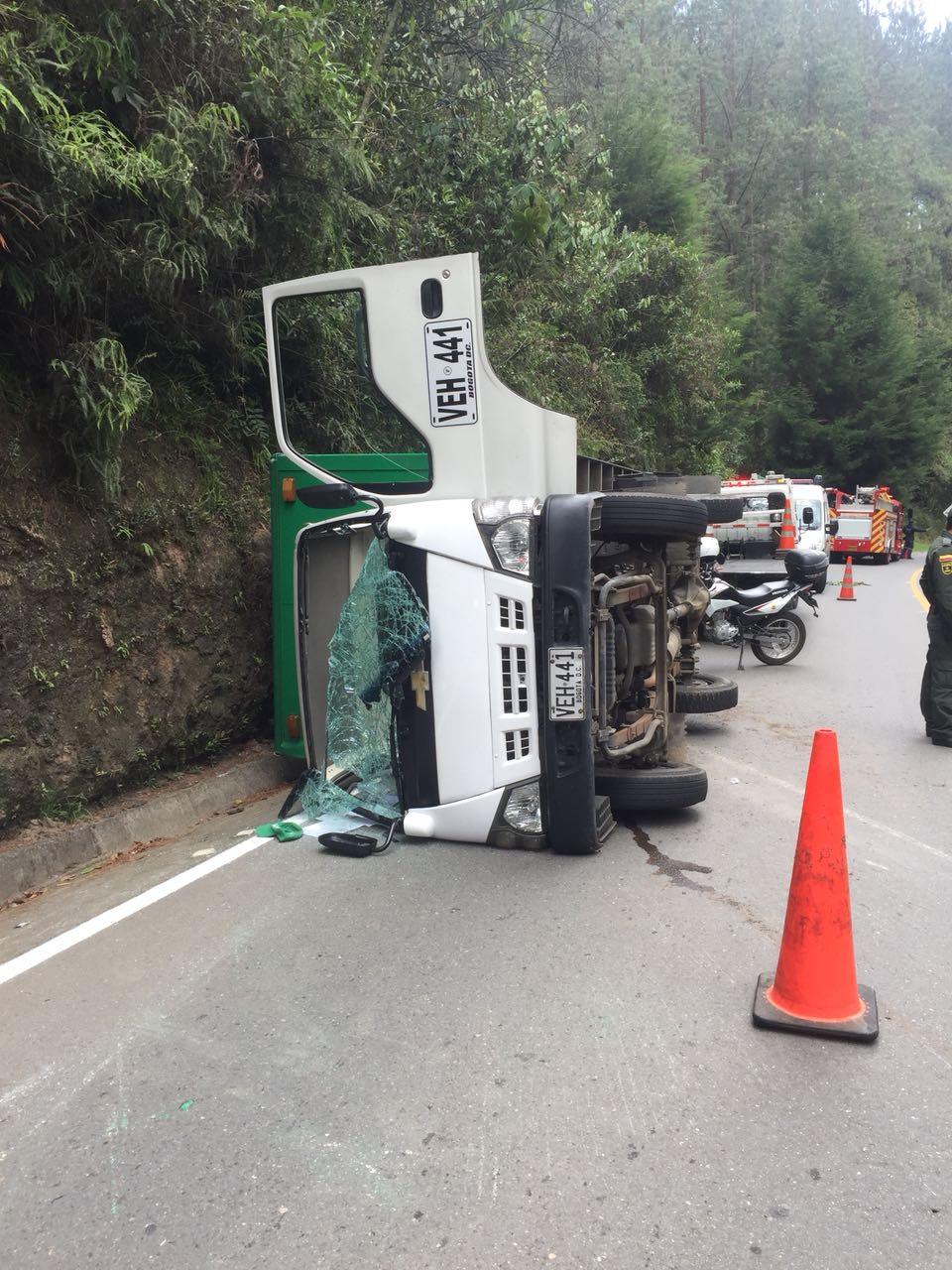Tres heridos en accidente de tránsito en vía La Ceja – El Retiro