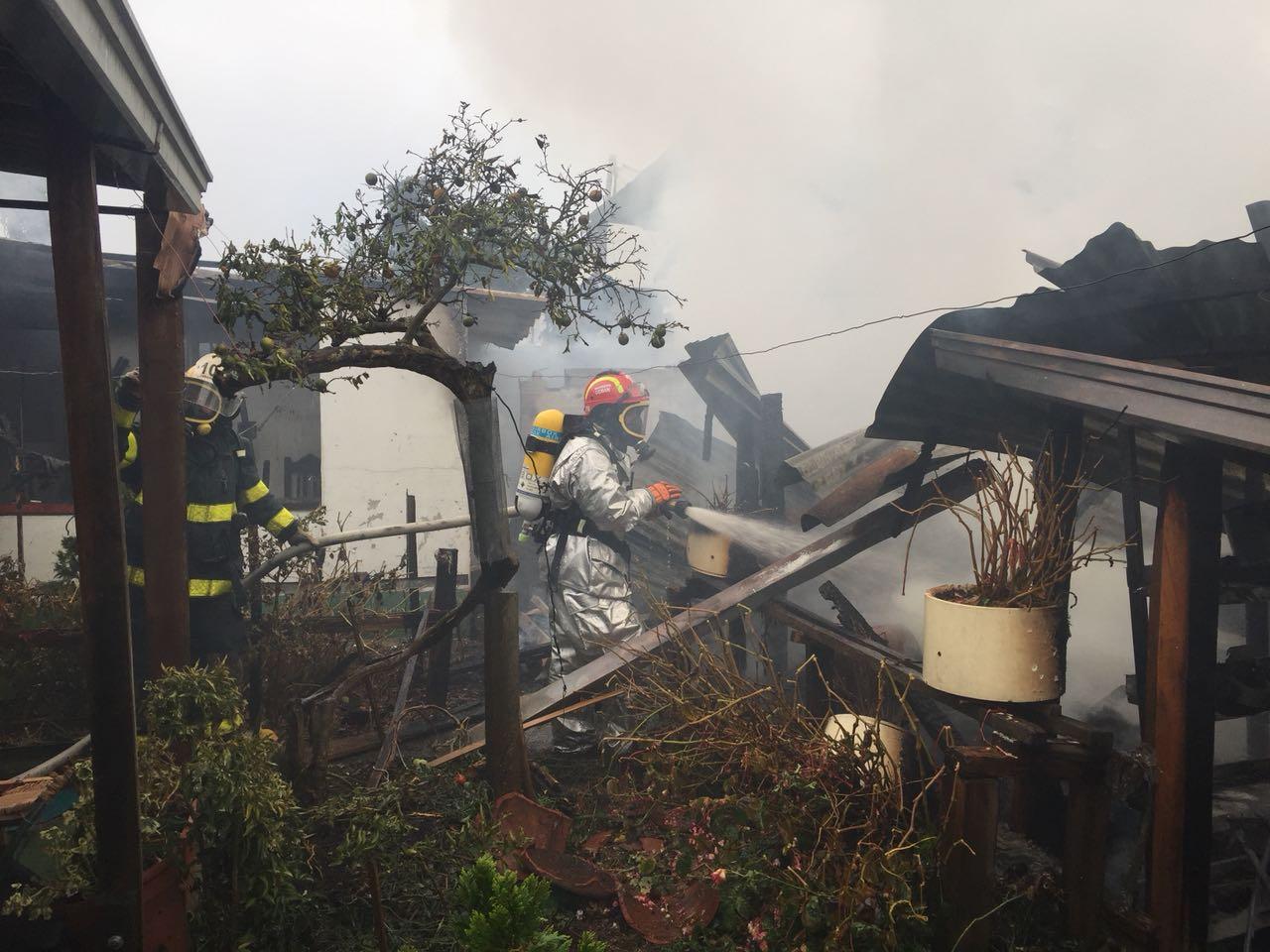 Manipulando una pipeta de gas ocasionó un incendio