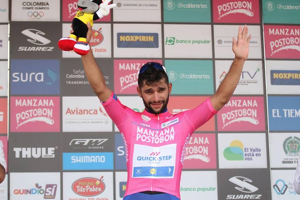 Fernando Gaviria gana tercera etapa de la Colombia Oro y Paz
