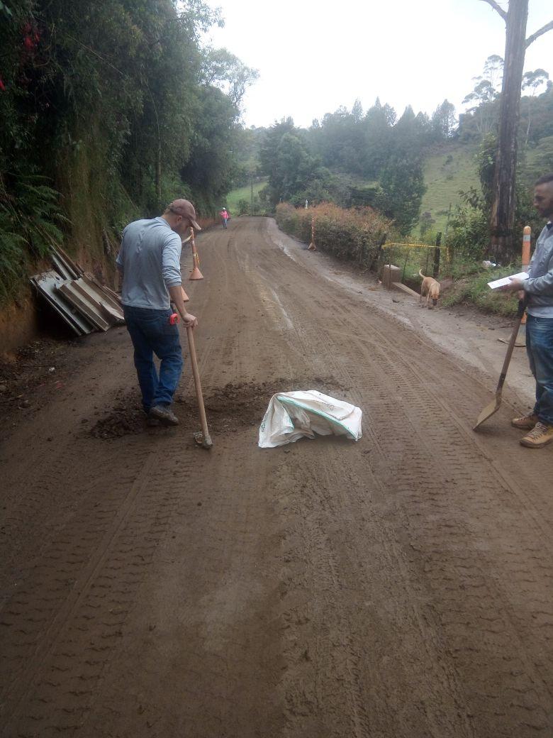 A finales de febrero estará pavimentado primer tramo de la vía a San José