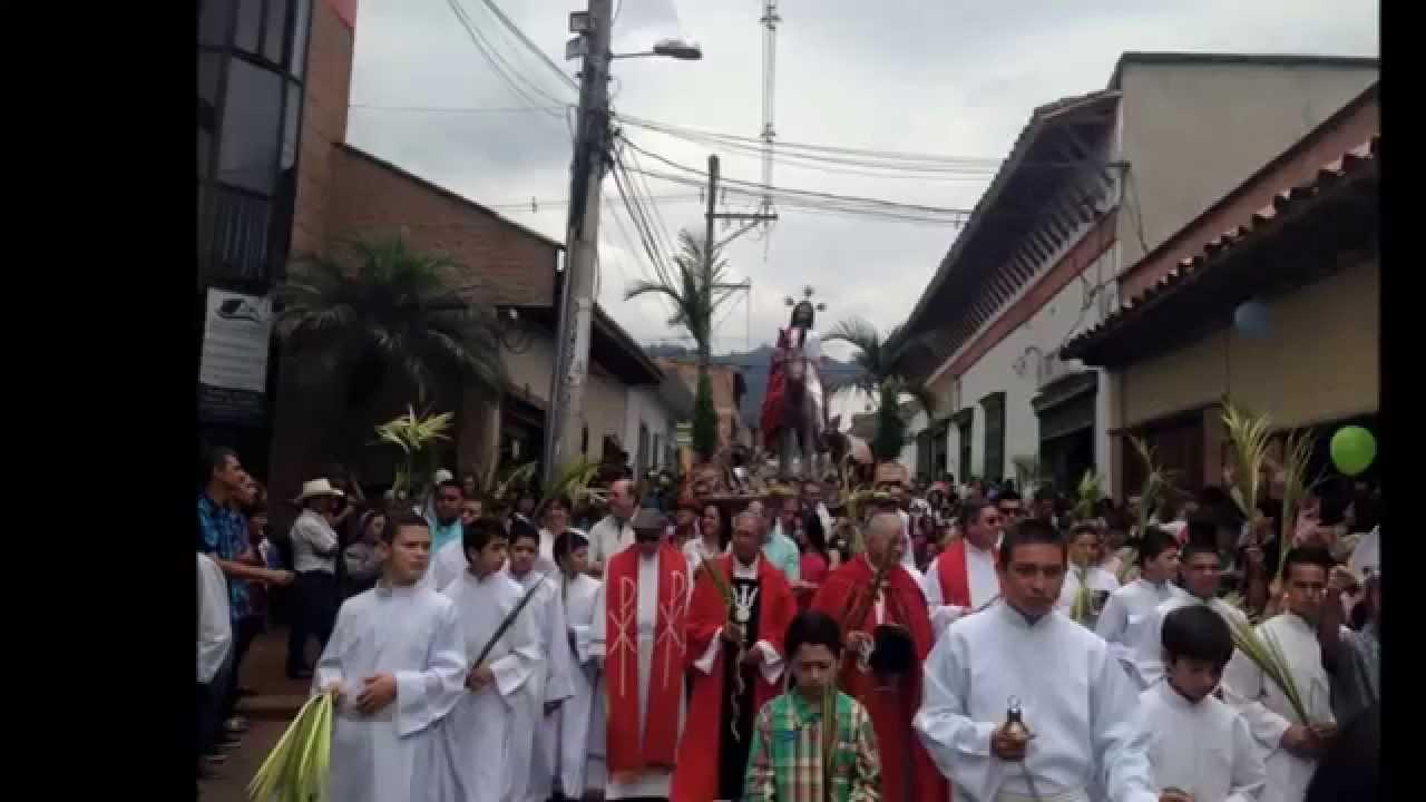 Con la procesión del Domingo de Ramos comienza la Semana Santa