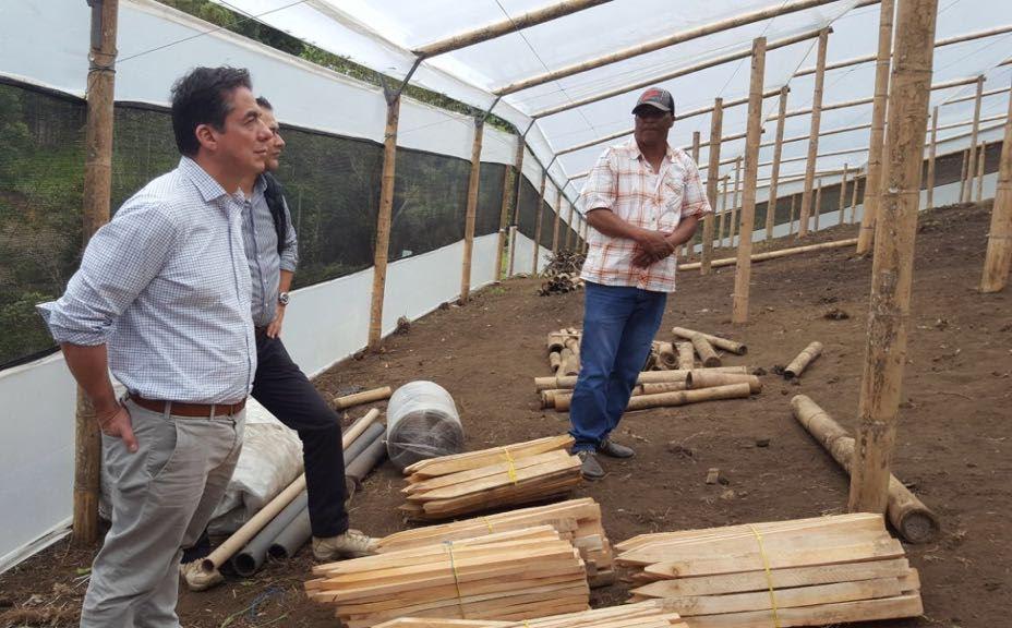 Comienzan a ejecutarse proyectos productivos en la Hacienda Miraflores en La Ceja