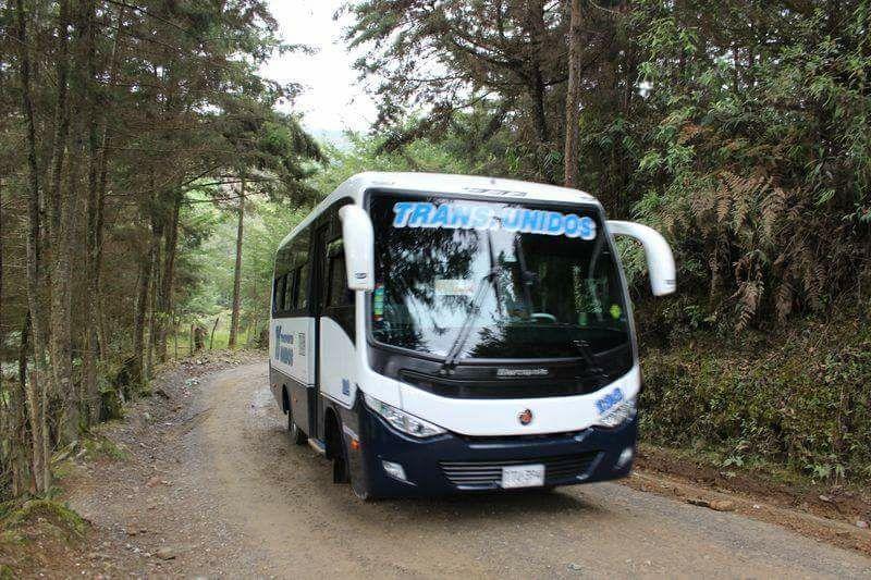 Transportes Unidos suspende ruta hacia Abejorral por Colmenas