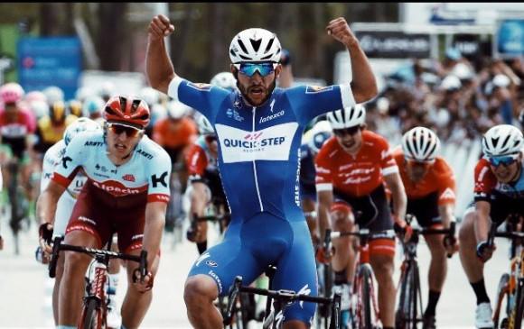 Fernando Gaviria gana la quinta etapa del Tour de California