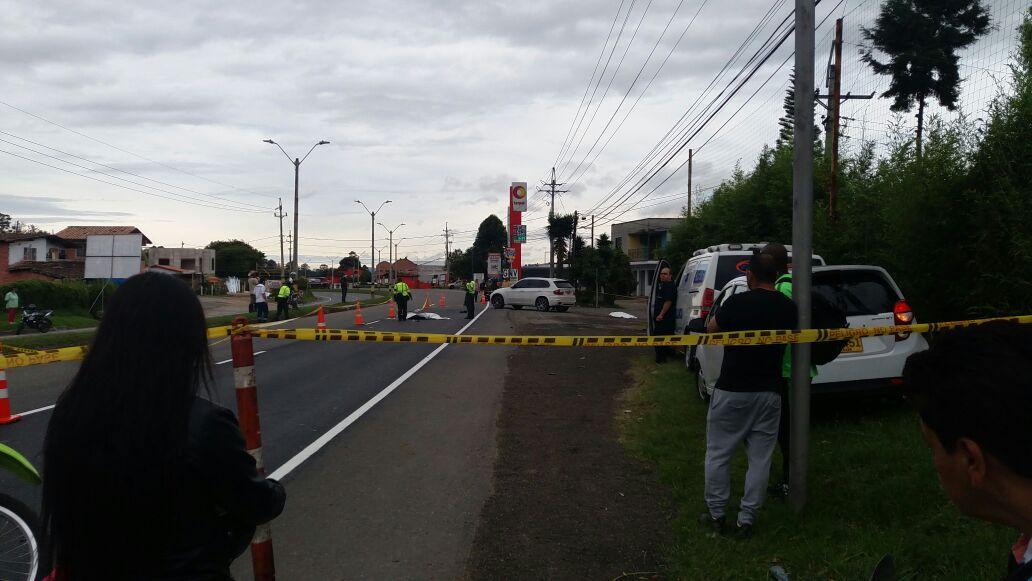 Accidente en Autopista Medellín – Bogotá deja dos muertos