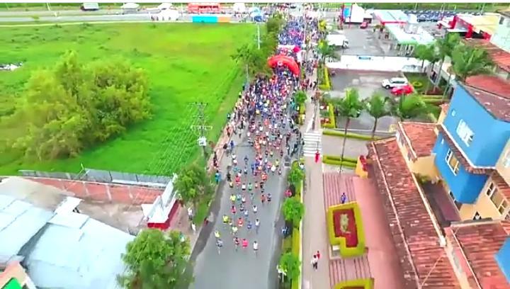 Esté atento al cierre de vías en Rionegro por la Media Maratón