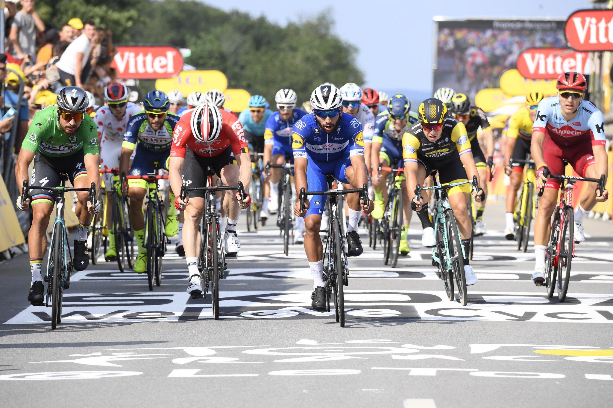 Fernando Gaviria gana la cuarta etapa del Tour de Francia