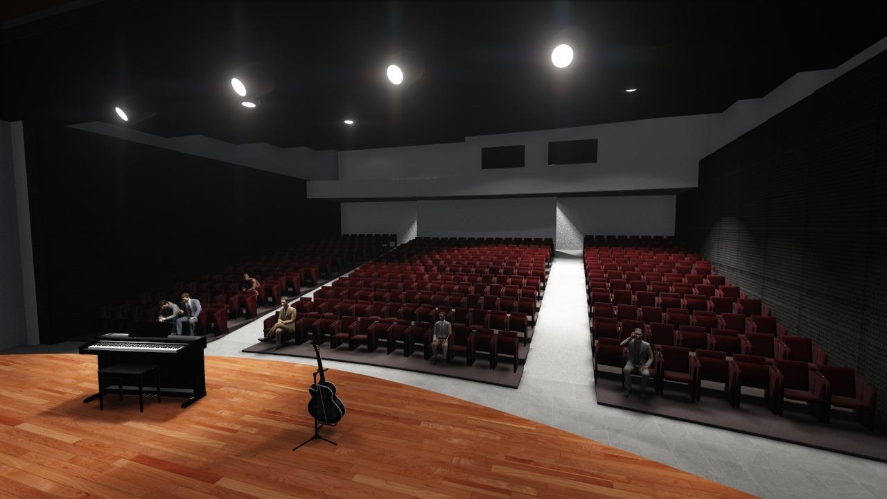 Así quedará el remodelado Teatro Aranzazu de La Ceja