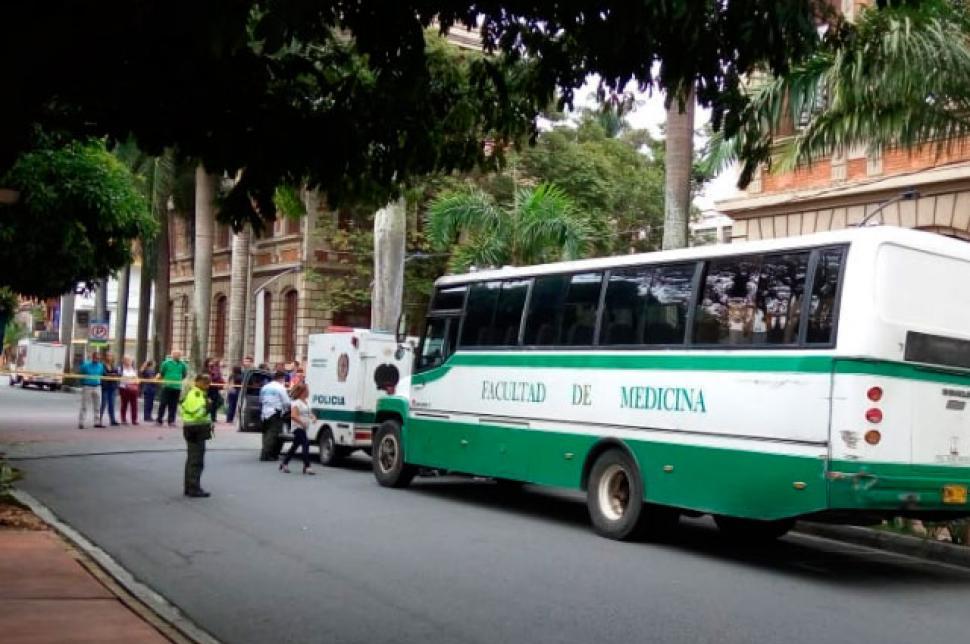 Conductor de bus de la UdeA que fue asesinado venía con estudiantes para el Oriente
