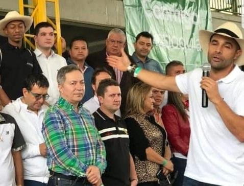 Alex «El Rosco» repitirá aspiración a la Alcaldía de La Ceja
