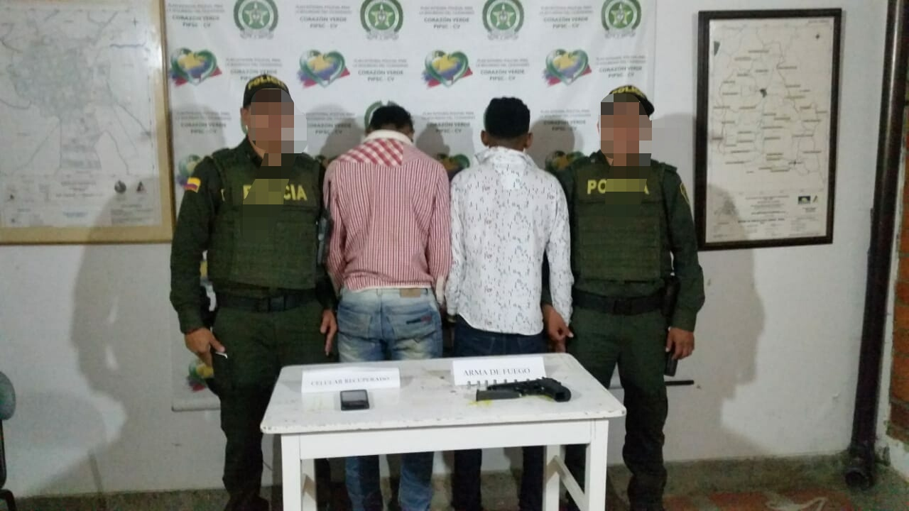 Capturan presuntos atracadores en la vía La Unión – Mesopotamia
