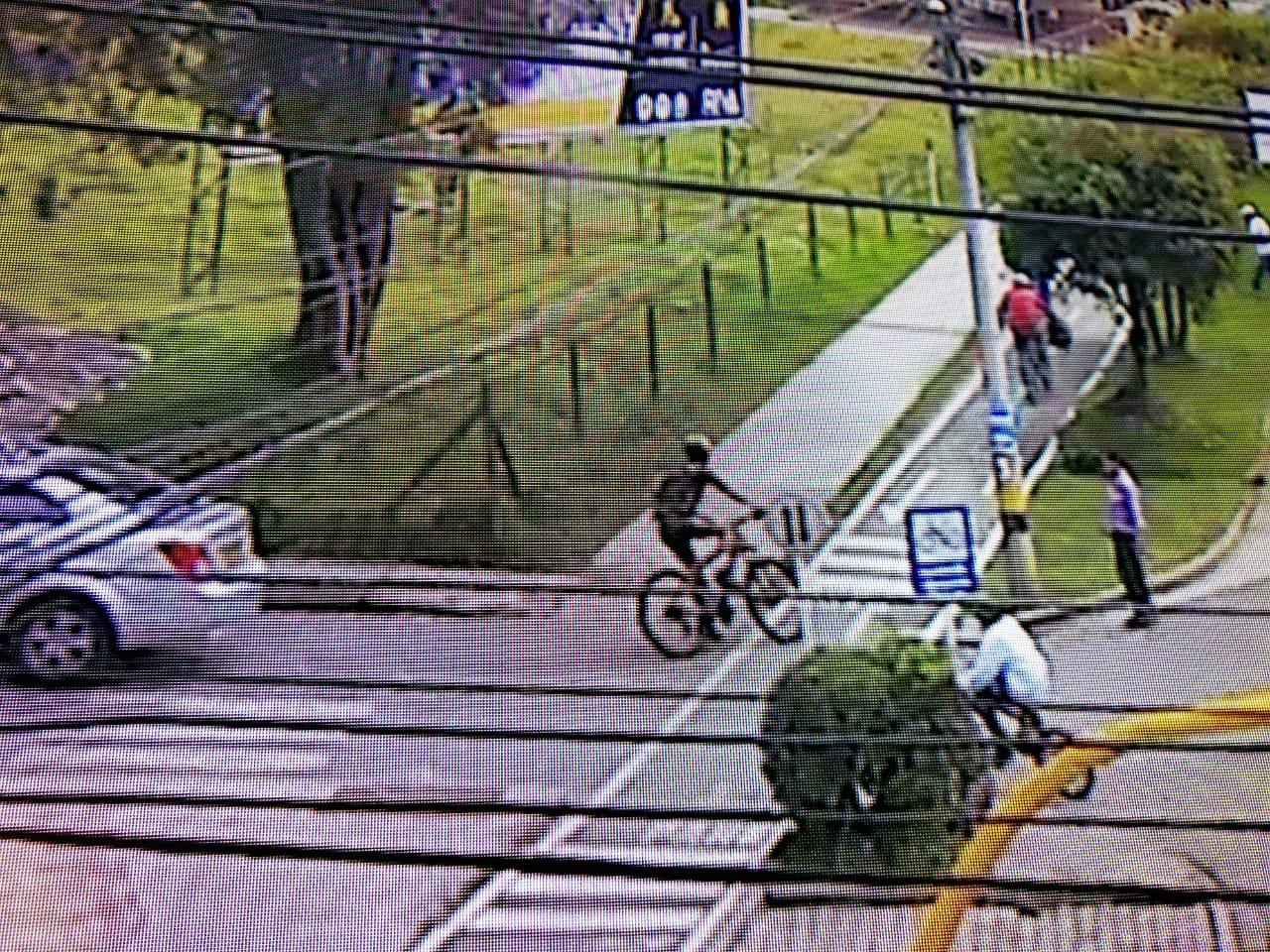 Disfrazados de ciclistas, ladrones hurtan bicicletas en La Ceja