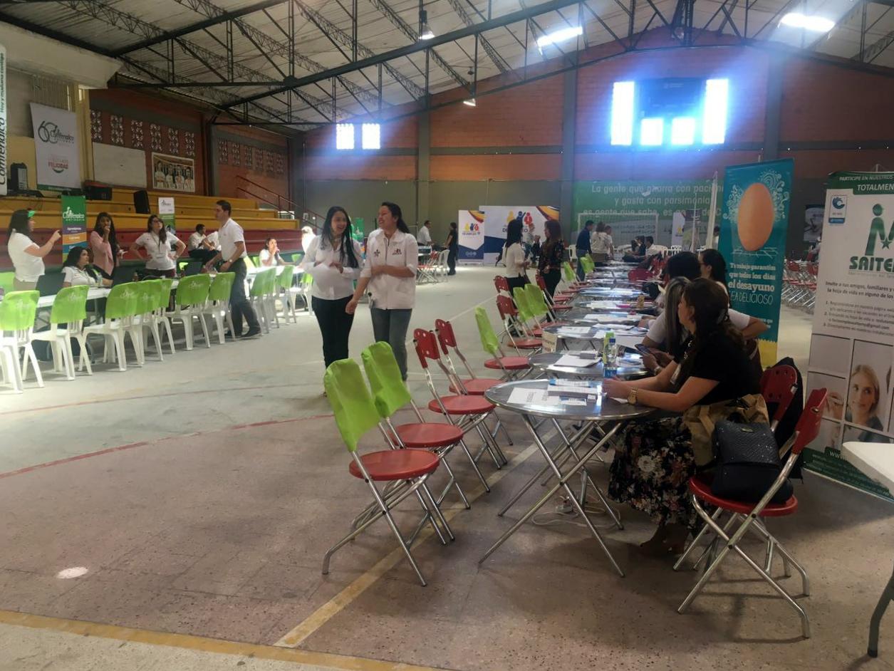 Más de 800 vacantes se ofertarán este viernes en La Ceja