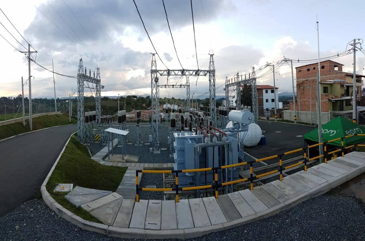 EPM moderniza la Subestación de energía de Marinilla
