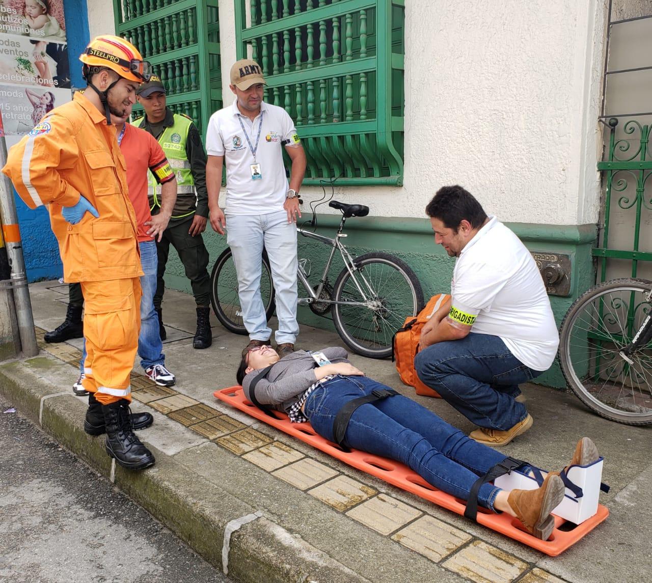 Equipos de emergencia midieron su capacidad de respuesta en simulacro de Sismo