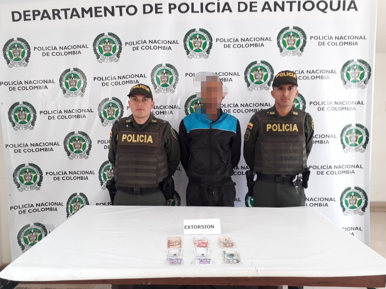 Capturan presunto extorsionista a comerciantes en La Ceja