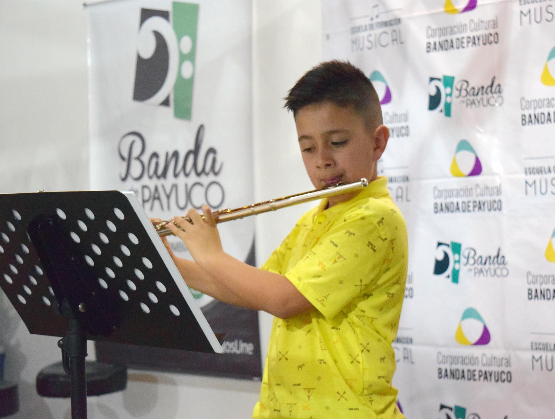 Escuela de Formación de la Banda de Payuco se fortalece en el 2019