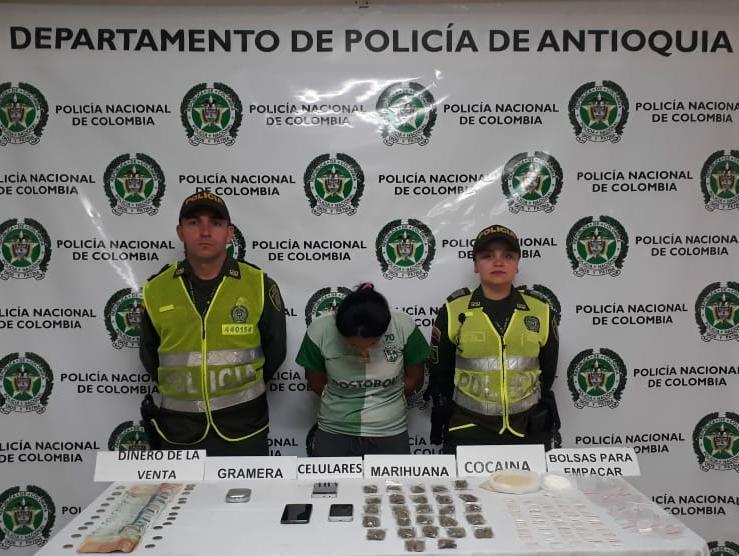 Dos hermanos fueron capturados por microtráfico en El Hipódromo