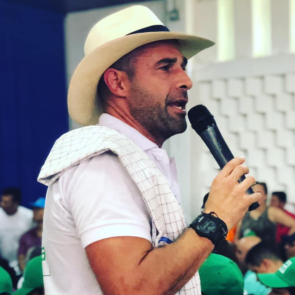 Andrés Guerra Hoyos candidato del Centro Democrático para la Gobernación