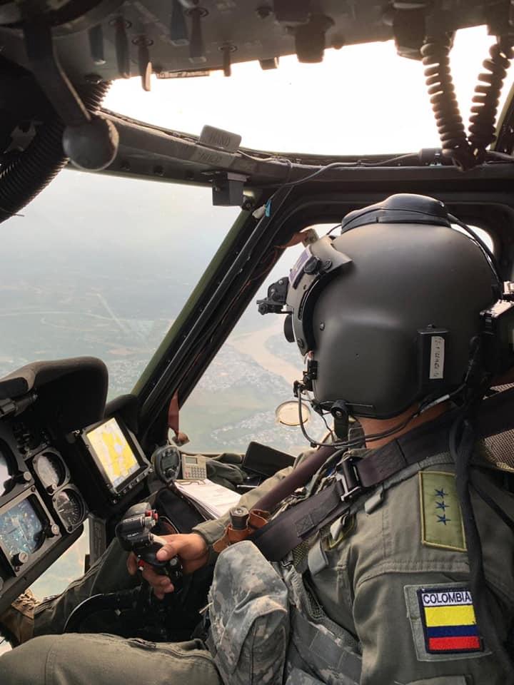 Planes éxodo y retorno vigilados desde el aire