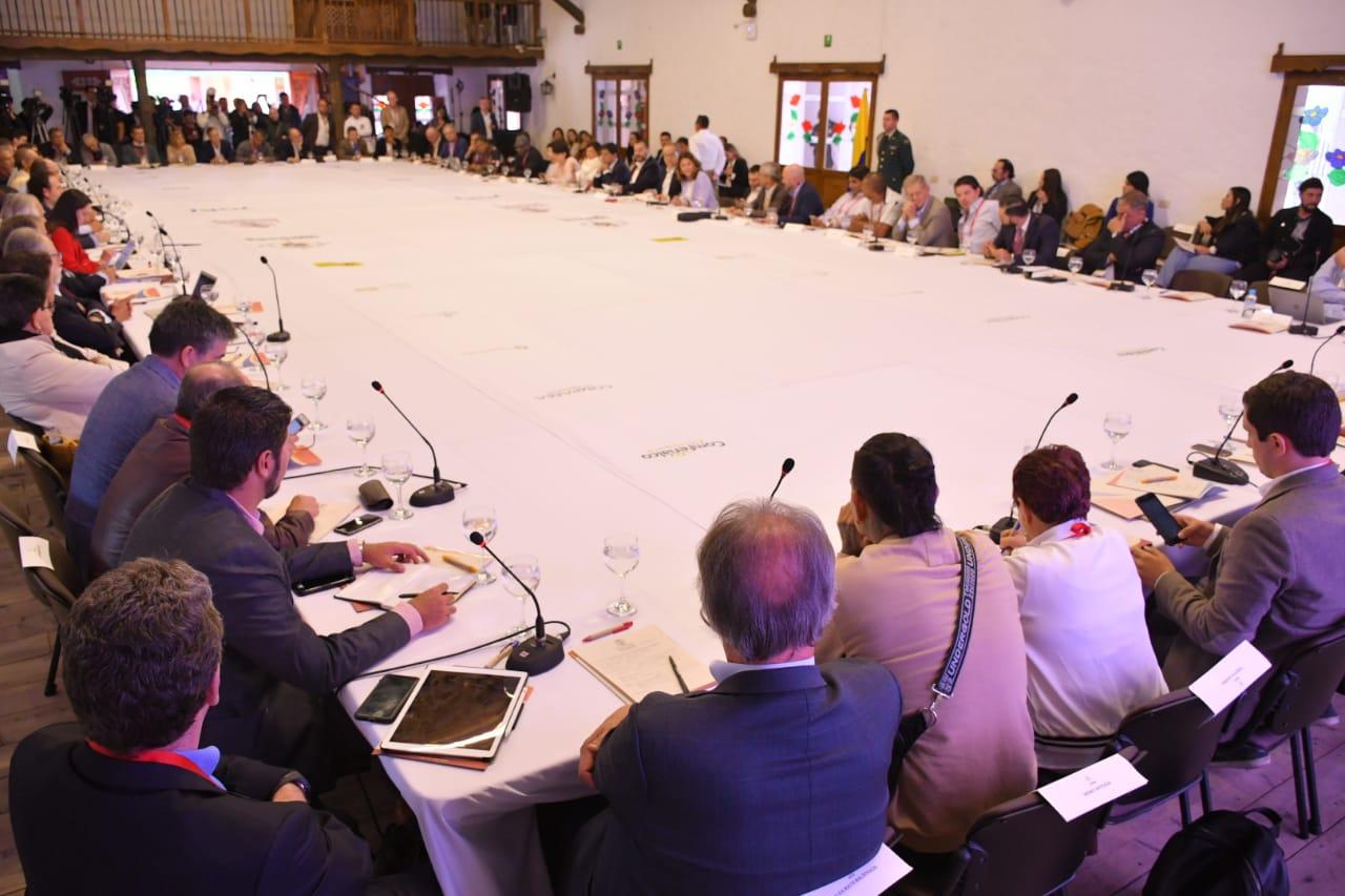 Se realizó en el Oriente Antioqueño la II Cumbre Sobre el Diálogo Social.