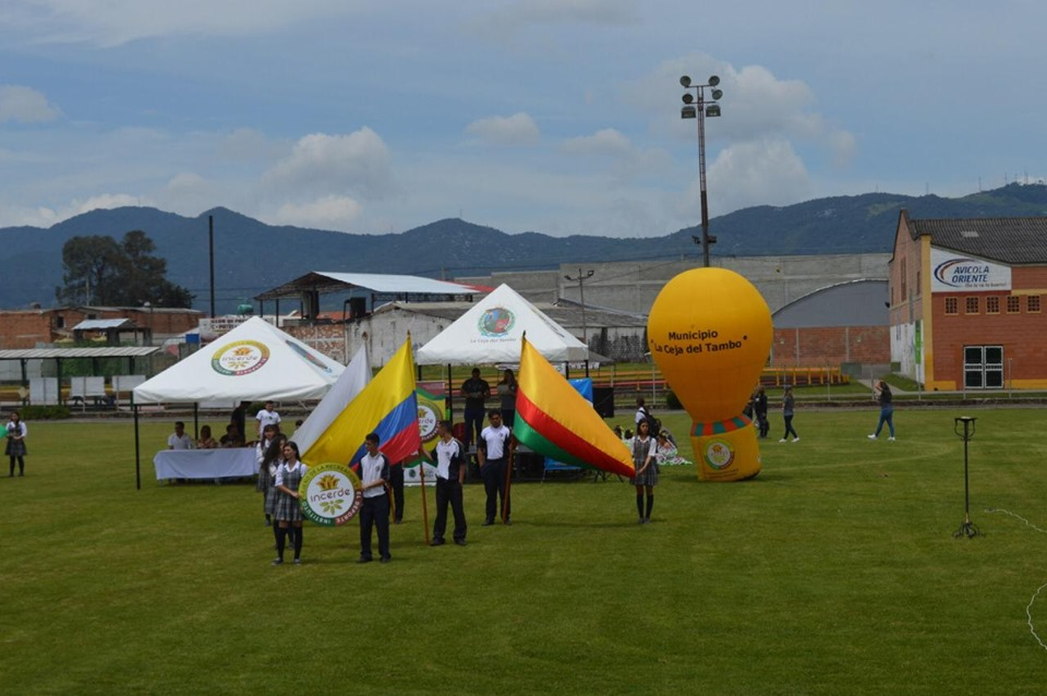 Se inauguró en La Ceja los juegos intercolegiados 2019