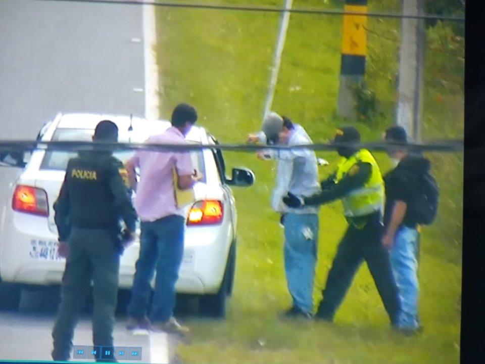 Con trabajo del Centro de Monitoreo de La Ceja y Policía se da la captura de presunto ladrón
