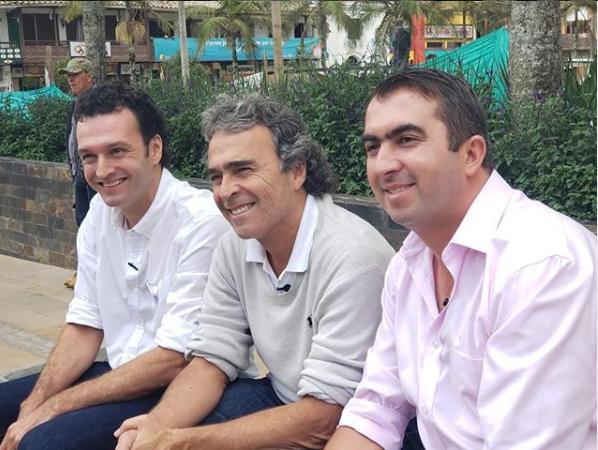 Ex candidato presidencial, Sergio Fajardo, estuvo de visita por La Ceja