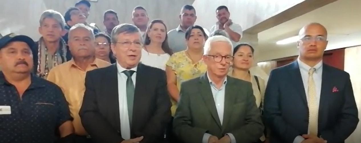 Los Congresistas que se oponen al nuevo sistema de transporte en Rionegro