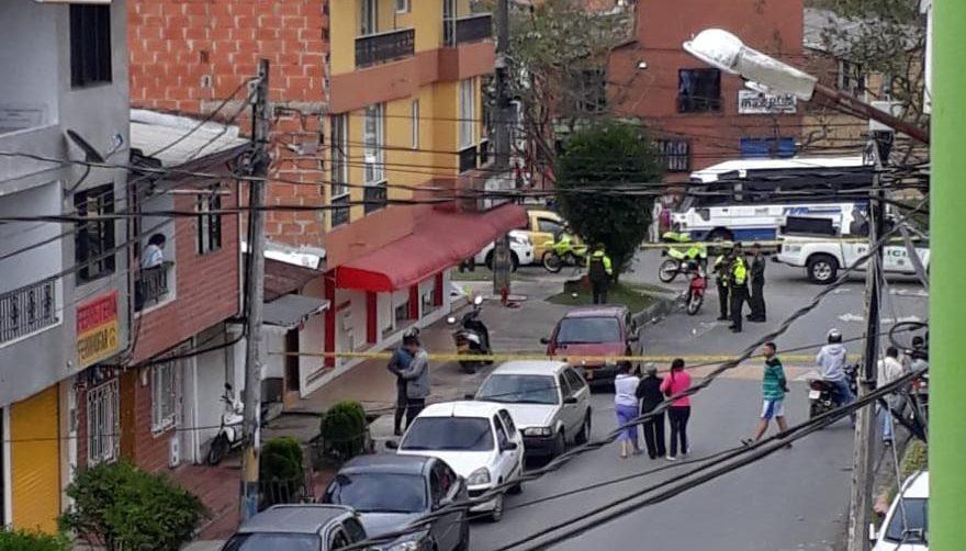 Las víctimas del ataque sicarial en Rionegro este jueves