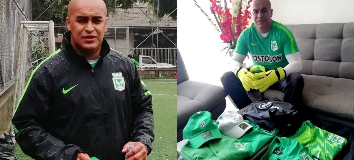 El cejeño Yony Yepes es el nuevo entrenador de arqueros de Atlético Nacional