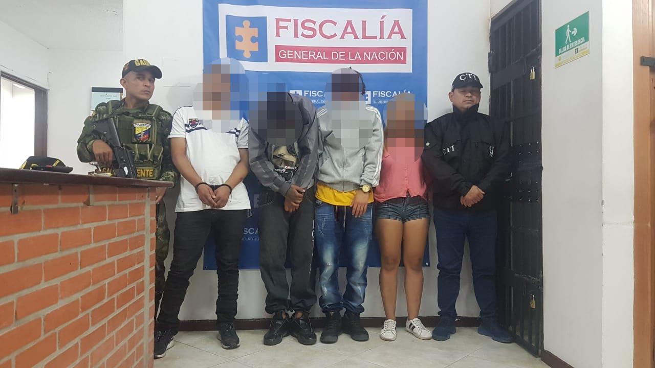 Capturaron en Rionegro los presuntos responsables de homicidio presentado en el mes de marzo