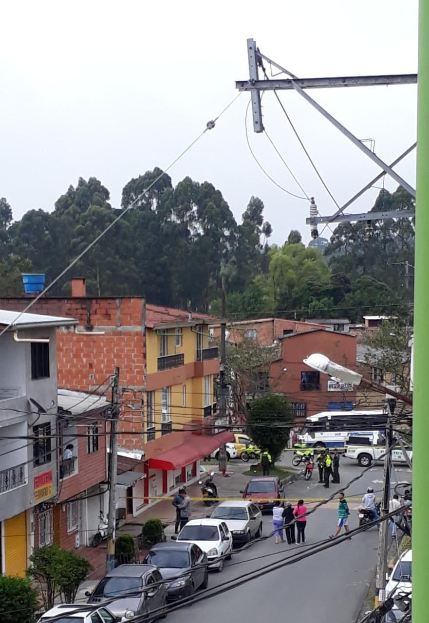 Asesinan dos personas esta mañana  en el municipio de Rionegro