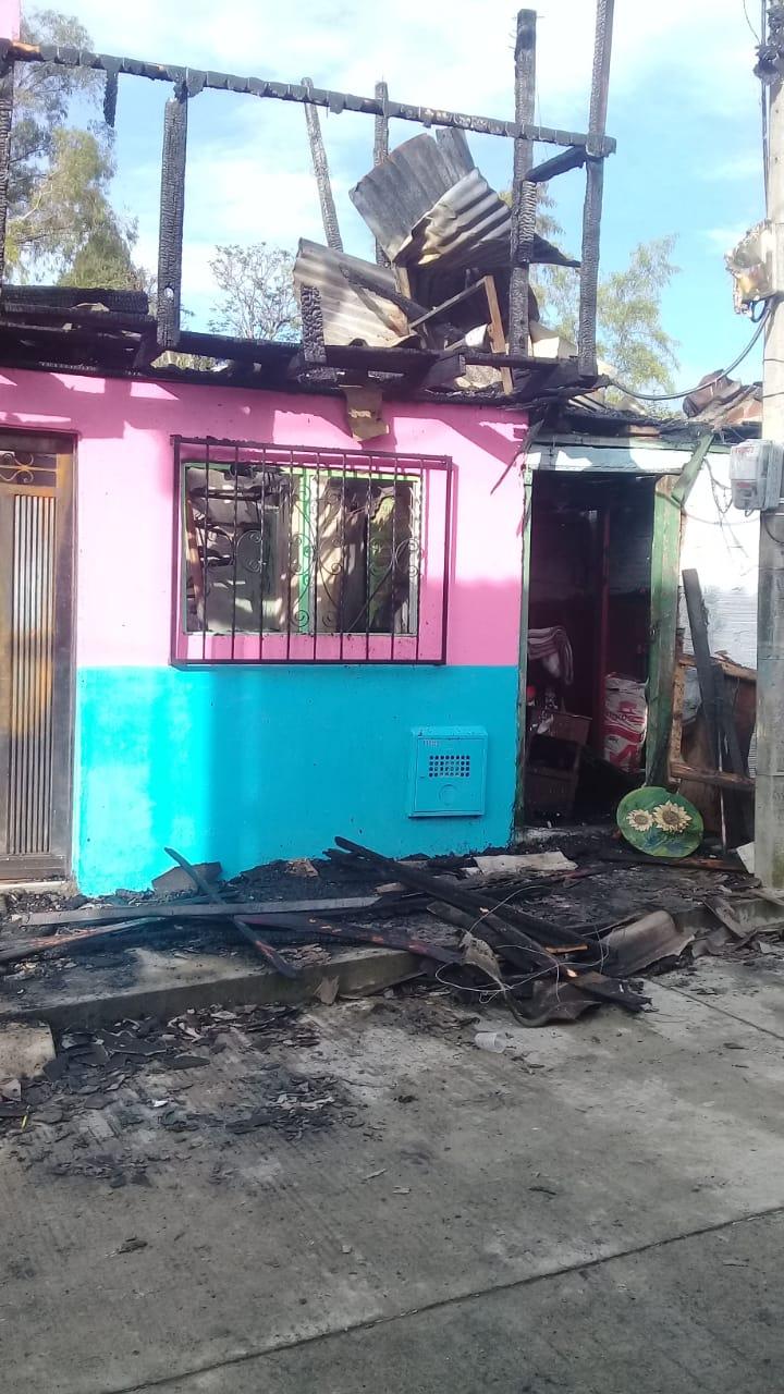 Incendio en municipio de Sonsón deja tres viviendas afectadas