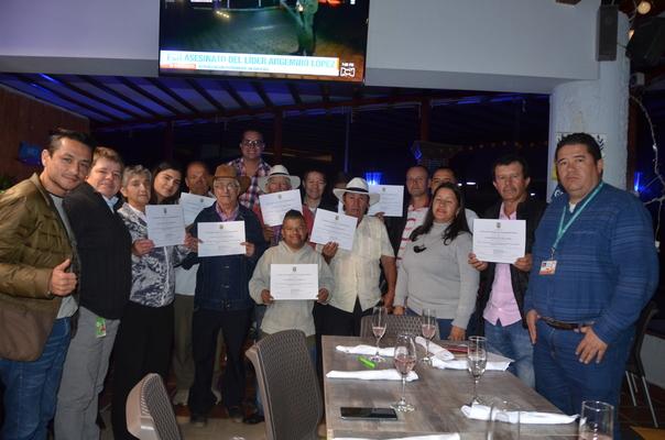 Recicladores de Guatapé fueron certificados por el SENA