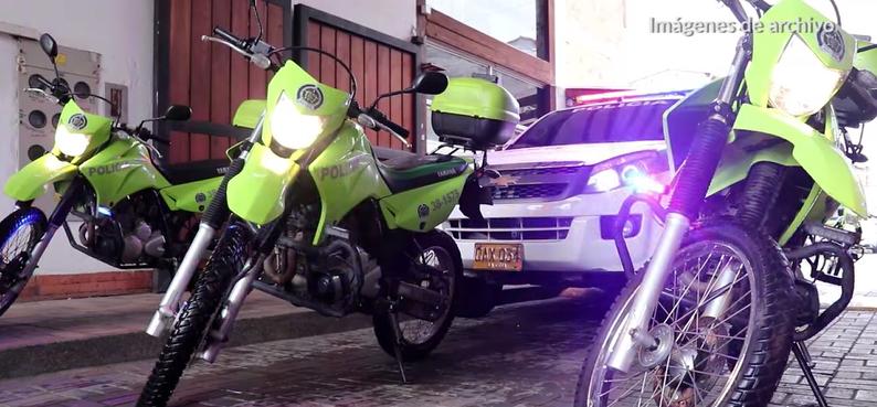 Policía fue recibida con disparos en La Ceja