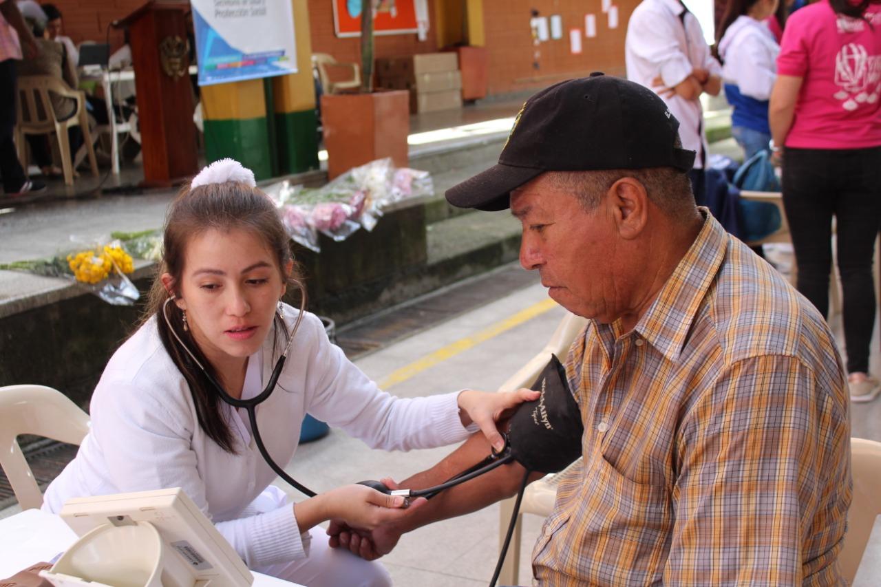 Masiva participación tuvo la Feria de la Salud y la Protección en La Ceja