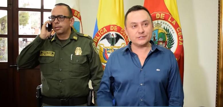 En el Municipio no hay bandas criminales asentadas: Alcalde Elkin Ospina
