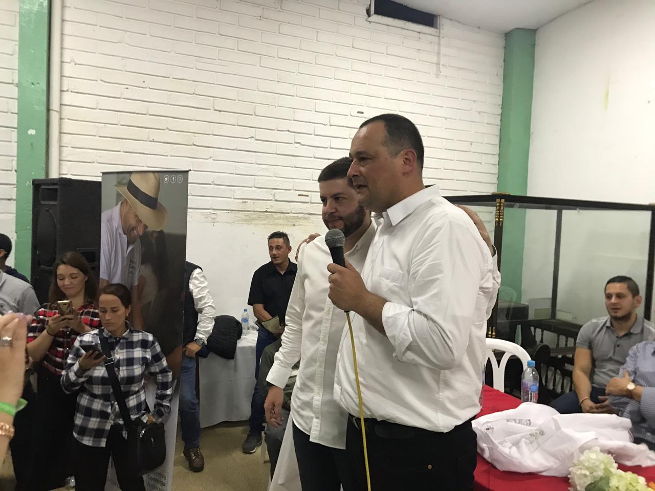 Nolber Bedoya, elegido candidato a la Alcaldía de El Retiro por el Centro Democrático